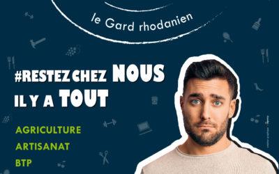 Mobilisation des Acteurs du Gard  rhodanien à travers une grande campagne de publicité sur «l'Achat Local»