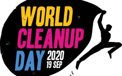 Devenez écocitoyen : participez à la journée du World Cleanup Day le 19 septembre prochain.