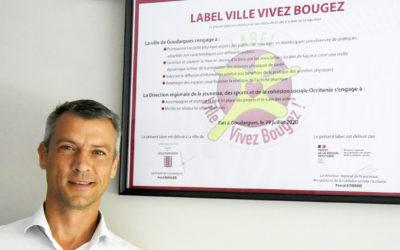 Le label «Ville-Vivez-Bougez!» pour la commune de Goudargues