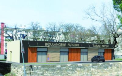 Saint-Nazaire : construction d'un pôle commercial