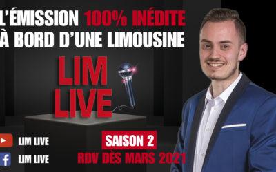 LIM LIVE : bienvenue à bord de la limousine de Valentin Riffard !