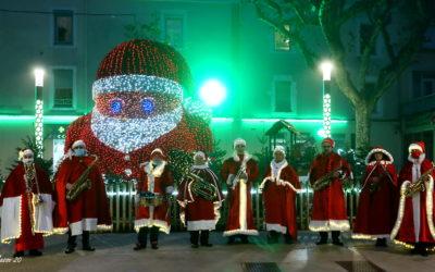 Festivités de Noël à Bagnols, un bilan positif malgré la crise sanitaire !