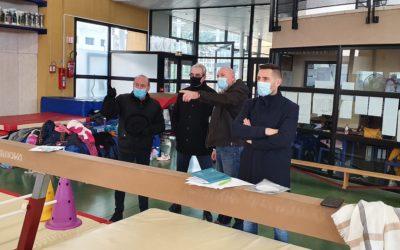La ville de Bagnols investit 50 000 € pour la rénovation des équipements de la salle de gymnastique