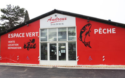 Un vent de renouveau souffle sur les magasins ANDREUX de Pont-st-Esprit!