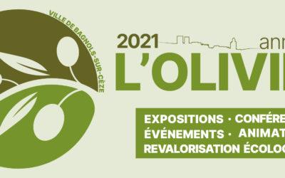 2021 Année de l'Olivier à Bagnols-sur-Cèze