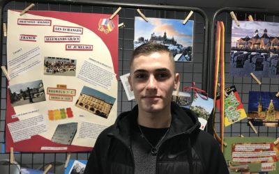 Jérémie Chaussard : le jeune Laudunois est parti à la rencontre des collégiens Bagnolais