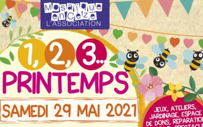 1,2,3 PRINTEMPS, une journée de fête autour de la nature, samedi 29 mai à Bagnols-sur-Cèze