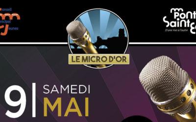 le Micro d'Or 2021, c'est le 29 mai, qu'on se le dise!