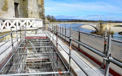 Pont-Saint-Esprit : L'escalier Saint-Pierre un belvédère sur le Rhône