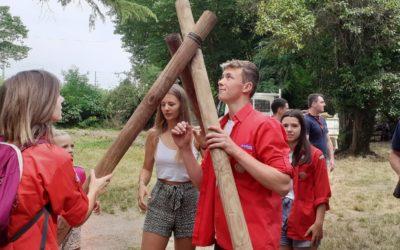 Fête de groupe pour les Scouts et Guides de Bagnols-sur-Cèze