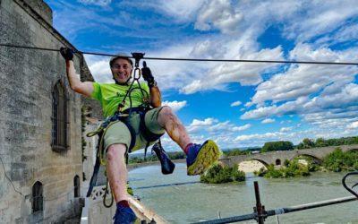 Pont-Saint-Esprit : une tyrolienne pour traverser le Rhône !