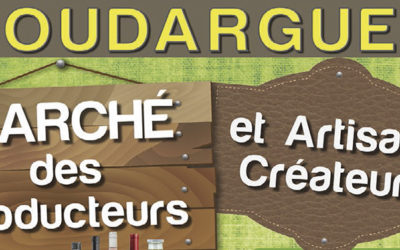 Goudargues : marché de producteurs et artisans créateurs en nocturne