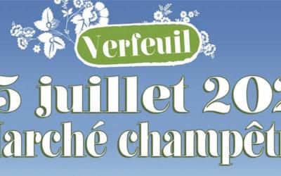 Découvrez le marché champêtre de Verfeuil le 25 juillet