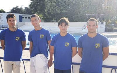 Exploit ! 4 jeunes nageurs du SOBM qualifiés pour le critérium national à Laval !